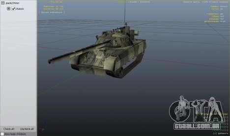 Roda GTA 5 T-80U
