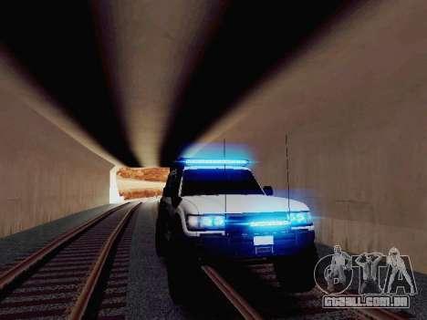 NEW Particle XENON-HID para GTA San Andreas segunda tela