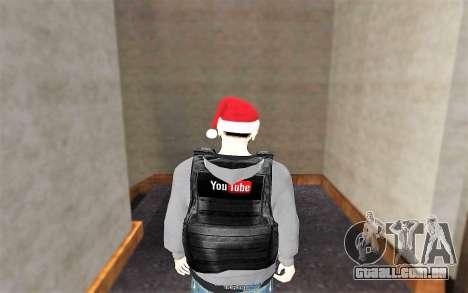 Novo colete à prova de balas para GTA San Andreas terceira tela