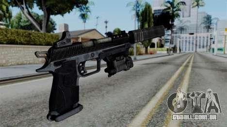 CoD Black Ops 2 - B23R Silenced para GTA San Andreas segunda tela