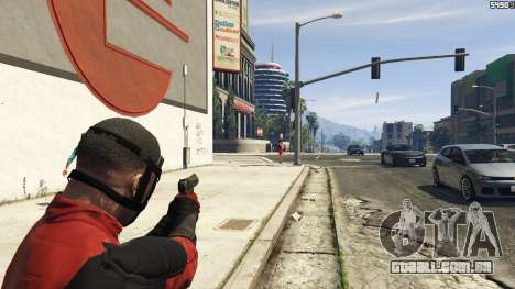 GTA 5 The Deadpool Mod quarto screenshot