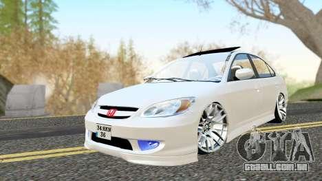 Honda Civic Vtec 2 para GTA San Andreas