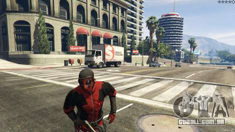 GTA 5 The Deadpool Mod terceiro screenshot
