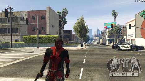 GTA 5 The Deadpool Mod segundo screenshot