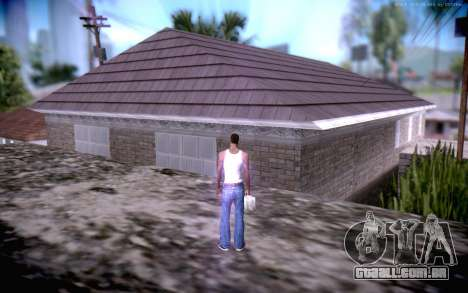 New CJ Home para GTA San Andreas terceira tela