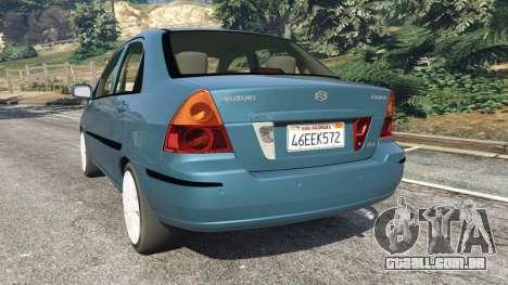 Suzuki Liana para GTA 5