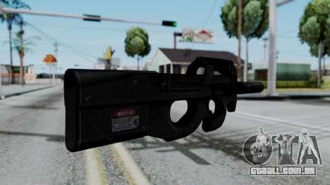 P90 para GTA San Andreas segunda tela