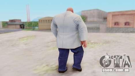 Marvel Future Fight - Kingpin para GTA San Andreas terceira tela