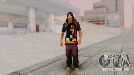 Bob Marley para GTA San Andreas segunda tela