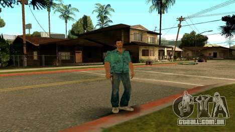 Tommy Vercetti para GTA San Andreas quinto tela