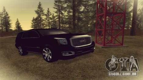 GMC Yukon 2015 para GTA San Andreas
