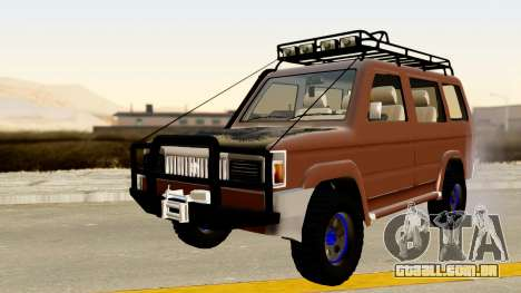 Toyota Kijang Grand Extra Off-Road para GTA San Andreas