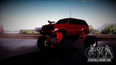 GTA 4 Cavalcade Monster Truck para GTA San Andreas esquerda vista