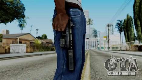 CoD Black Ops 2 - B23R Silenced para GTA San Andreas terceira tela