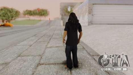 Bob Marley para GTA San Andreas terceira tela