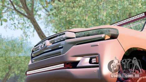 Toyota Land Cruiser 200 2016 para GTA San Andreas vista direita