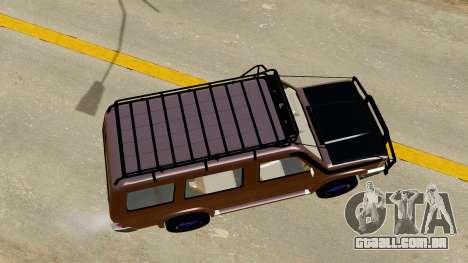 Toyota Kijang Grand Extra Off-Road para GTA San Andreas vista traseira