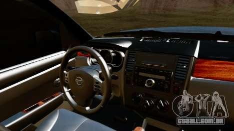Nissan Frontier PRO-4X 2014 para GTA San Andreas vista direita