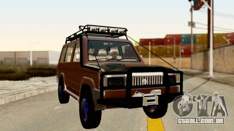 Toyota Kijang Grand Extra Off-Road para GTA San Andreas vista direita