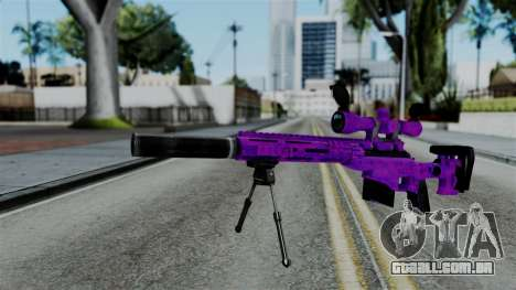 Purple Sniper para GTA San Andreas