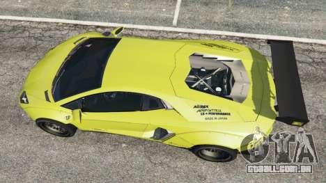 Lamborghini Aventador LP700-4 [LibertyWalk] v1.0 para GTA 5