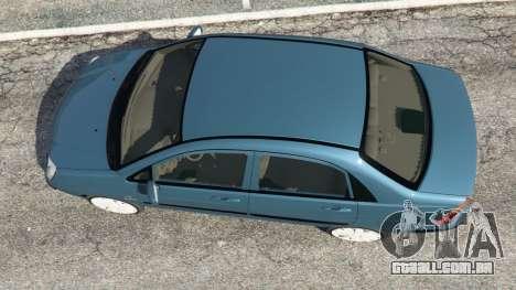 GTA 5 Suzuki Liana voltar vista
