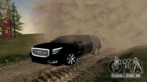 GMC Yukon 2015 para GTA San Andreas esquerda vista