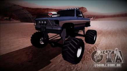 Rancher Monster Truck para GTA San Andreas