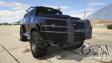 LAPD SWAT Insurgent para GTA 5