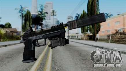 CoD Black Ops 2 - B23R Silenced para GTA San Andreas