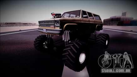 Rancher XL Monster Truck para GTA San Andreas