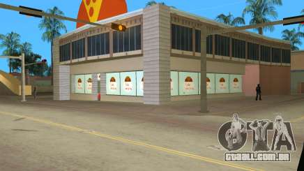 Iraninan Pizza Shop para GTA Vice City