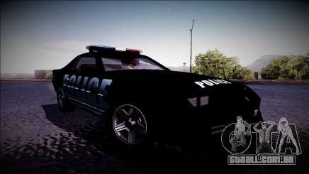 Chevrolet Camaro 1990 IROC-Z Police Interceptor para GTA San Andreas