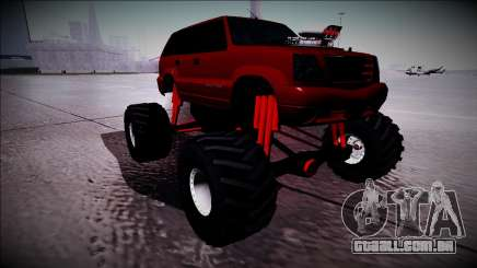 GTA 4 Cavalcade Monster Truck para GTA San Andreas