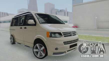 Volkswagen Transporter TDI para GTA San Andreas