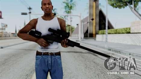 TAC-300 Sniper Rifle v2 para GTA San Andreas terceira tela