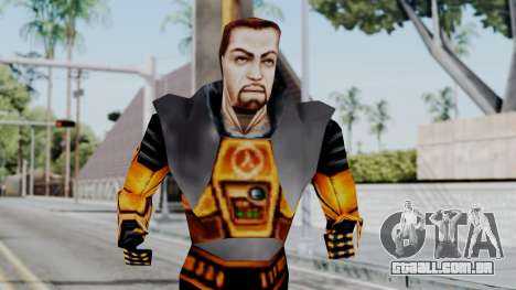 Gordon Freeman HEV SUIT from Half Life para GTA San Andreas