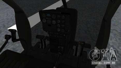 MH-9 Hummingbird Recon para GTA San Andreas vista direita
