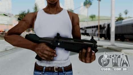 GTA 5 Bullpup Shotgun para GTA San Andreas terceira tela
