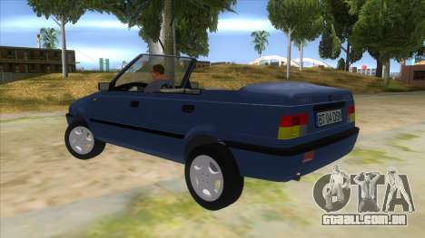 Dacia SuperNova para GTA San Andreas traseira esquerda vista