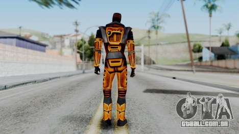 Gordon Freeman HEV SUIT from Half Life para GTA San Andreas terceira tela
