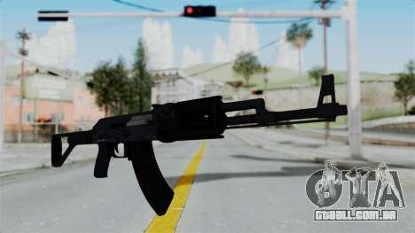 GTA 5 Assault Rifle para GTA San Andreas segunda tela