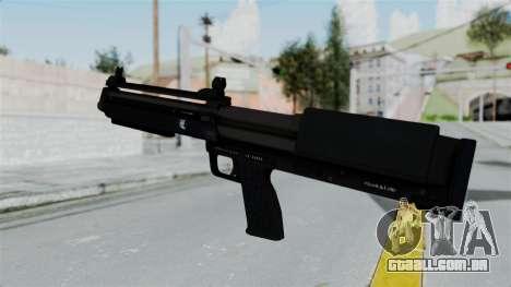 GTA 5 Bullpup Shotgun para GTA San Andreas segunda tela