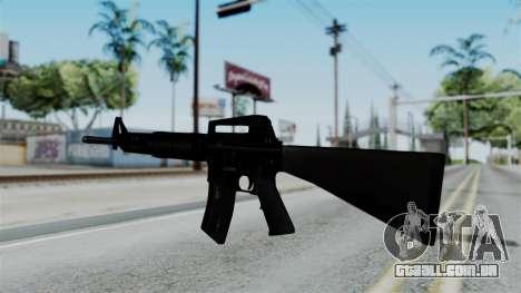 No More Room in Hell - M16A4 Carryhandle para GTA San Andreas segunda tela