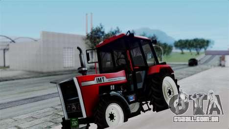 IMT Traktor para GTA San Andreas vista direita