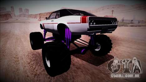 GTA 5 Declasse Tampa Monster Truck para GTA San Andreas esquerda vista