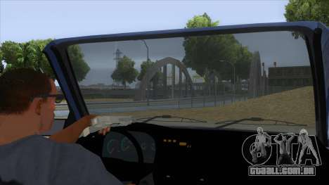 Dacia SuperNova para GTA San Andreas vista interior