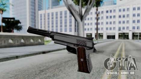 Vice City Beta Silver Colt 1911 para GTA San Andreas terceira tela