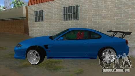 Nissan Silvia S15 326 Power para GTA San Andreas esquerda vista