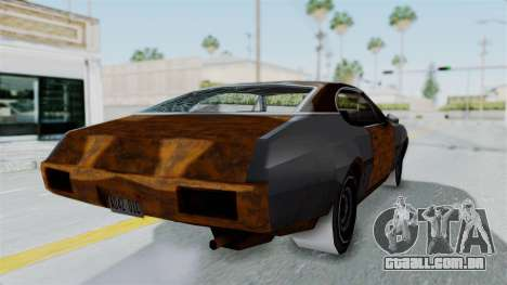 Updated-Clover para GTA San Andreas vista direita